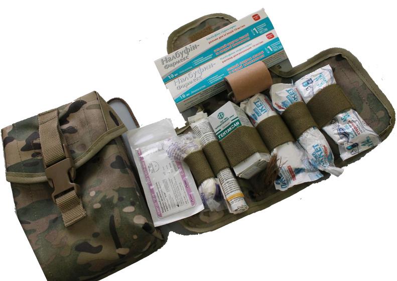 Аптечка военная армейская состав