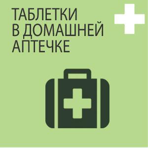 Какие таблетки должны быть в домашней аптечки